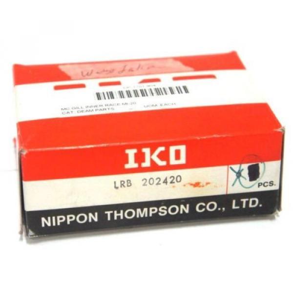 LOT OF 4 NEW IKO LRB 202420 INNER RING CAM FOLLOWER LRB202420 #1 image