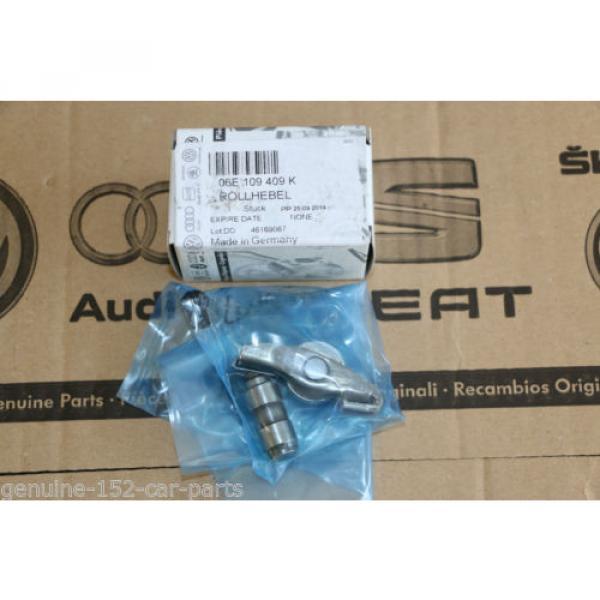 GENUINE VW AUDI ROLLER CAM FOLLOWER 06E109409K ROCKER ARM END A4 A6 A8 #4 image