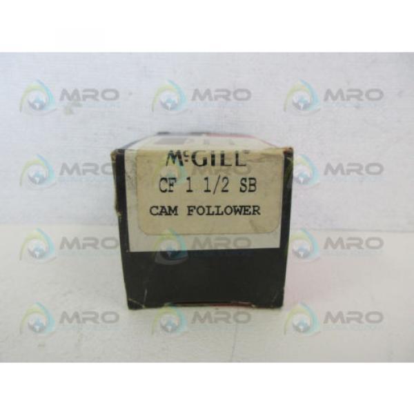 MCGILL CF-1-1/2-SB CAM FOLLOWER *NEW IN BOX* #1 image