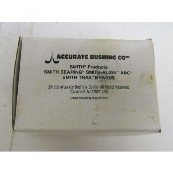 Accurate Bushing Co Smith Products CR-3-XB Cam Follower Bearing #2 image