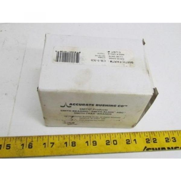 Accurate Bushing Co Smith Products CR-3-XB Cam Follower Bearing #4 image
