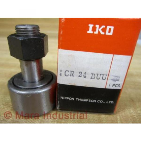 IKO CR-24-BUU Cam Follower CR24BUU #1 image