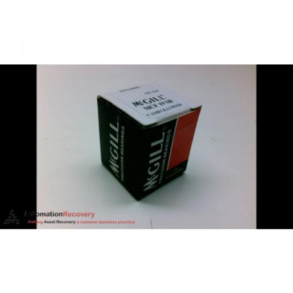 MCGILL MCF 19 SB CAM FOLLOWER, 19MM OD, NEW #196140 #1 image