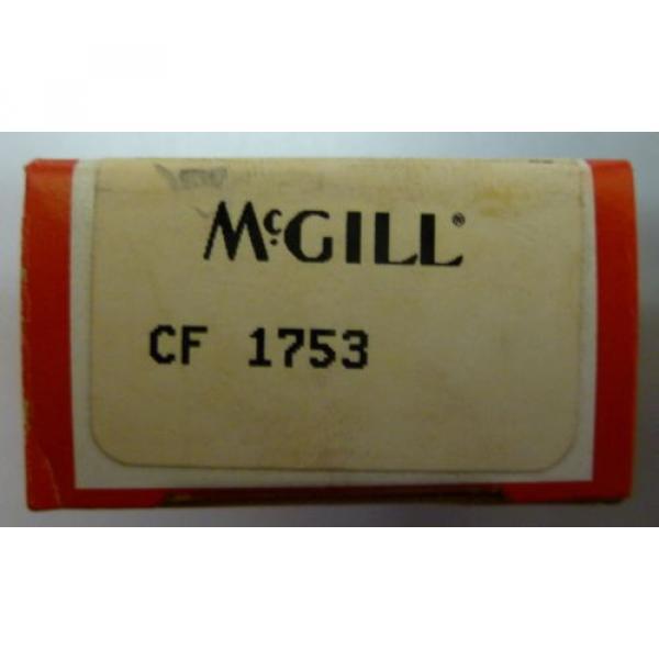 McGill CF 1753 MM1W0 10-5075-96 Cam Follower Precision Bearing NEW #1 image