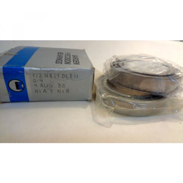 NEW IN BOX SET OF (2) BARDEN 112H  SUPER PRECISION BEARING #1 image